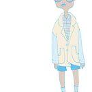100 Days. Boy with Glasses. by MarcConaco