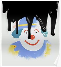 I might paint a picture of a clown Poster