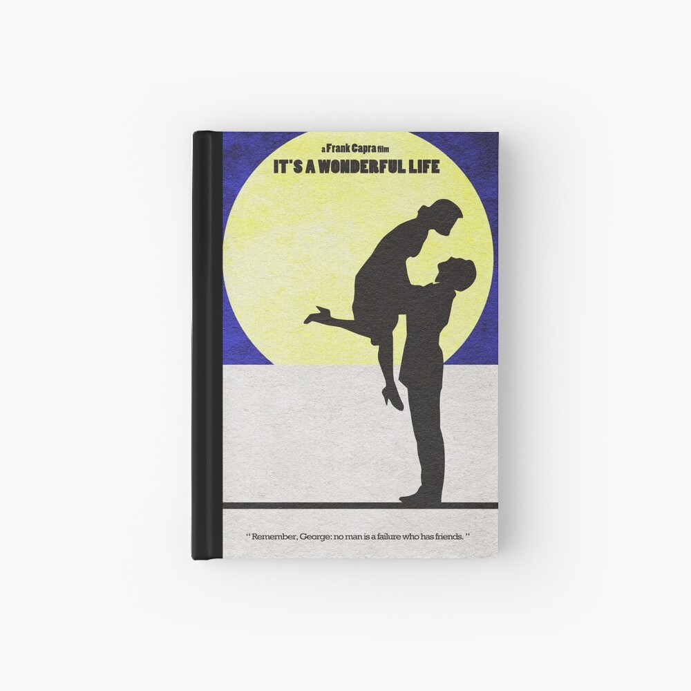 It's a Wonderful Life Hardcover Journal