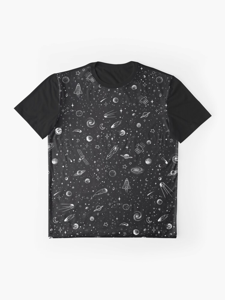 Alternate view of Space Graphic T-Shirt