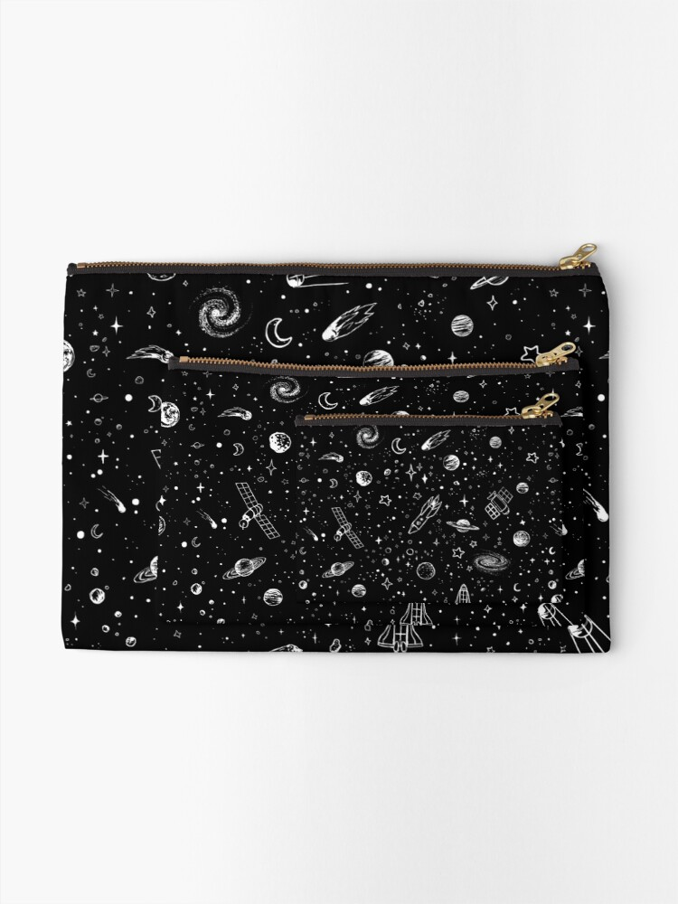 Alternate view of Space Zipper Pouch