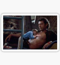 Jurassic Park - Heavy Breathing Sticker