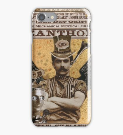 Steampunk Oracle - Zanthor Sees All iPhone Case/Skin