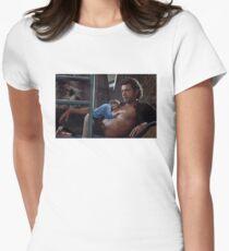 Jurassic Park - Heavy Breathing Women's Fitted T-Shirt