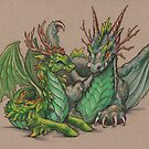 Forest Dragons by justteejay