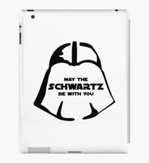 Schwartz Be With you iPad Case/Skin