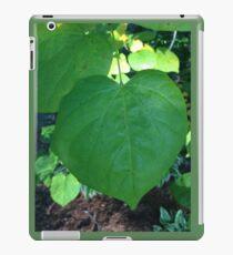 heart leaves iPad Case/Skin