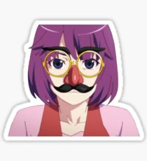 Senjougahara Groucho Glasses Sticker