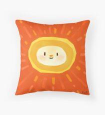 Shiny Sunshine Throw Pillow