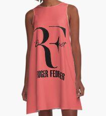 RF - PerFect -  BLACK A-Line Dress