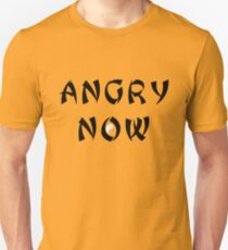 Angry Now black T-Shirt