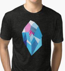 Bright pattern crystals Tri-blend T-Shirt