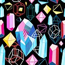Bright pattern crystals by Tanor