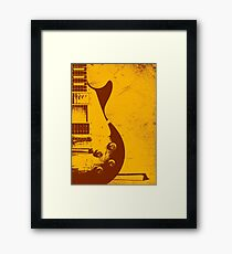 Les Paul Guitar - Jimmy Page Framed Print