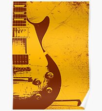 Les Paul Guitar - Jimmy Page Poster
