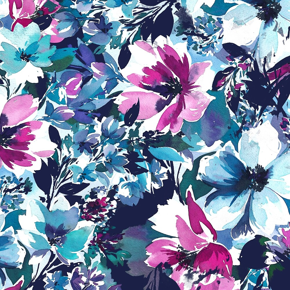 Abstracted Floral by charlietaylor