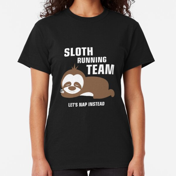 Sloth Running Team Lets Nap Instead Sport Waist Bag Fanny Pack For Run