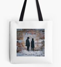 Dr Who and Clara - Timelords Tote Bag