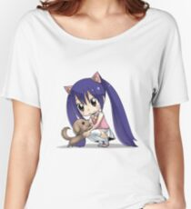 Chibi Wendy of Fairy tail Women's Relaxed Fit T-Shirt