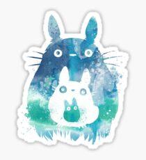Totoro Chibi and Kawai Sticker