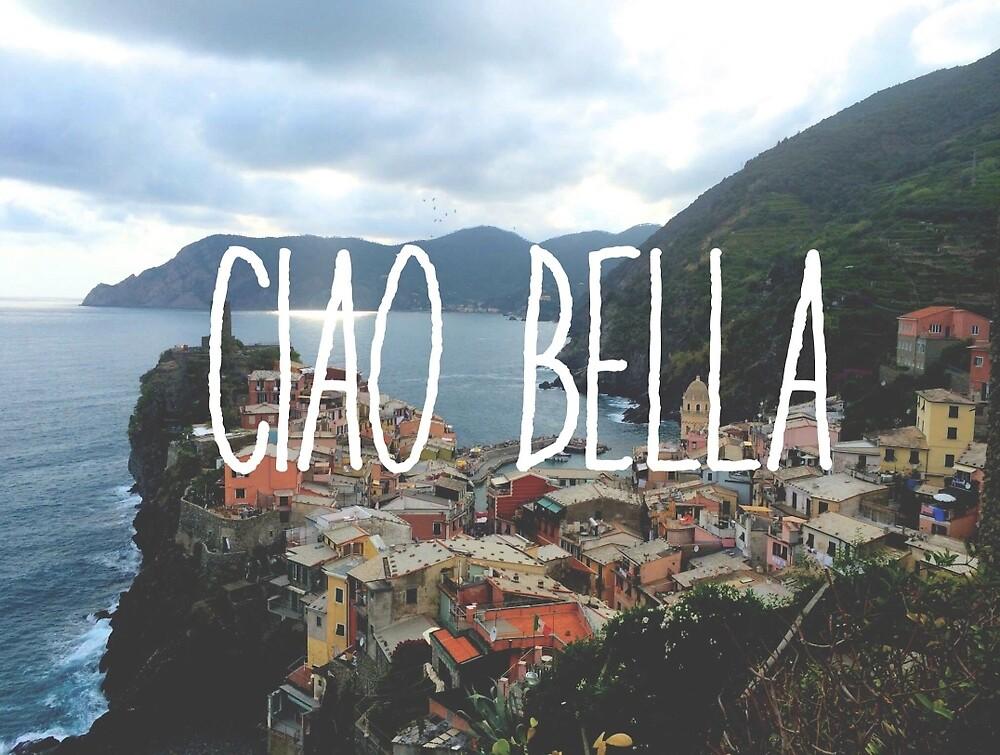 Ciao Bella and Ciao Cinque Terre by modernhart