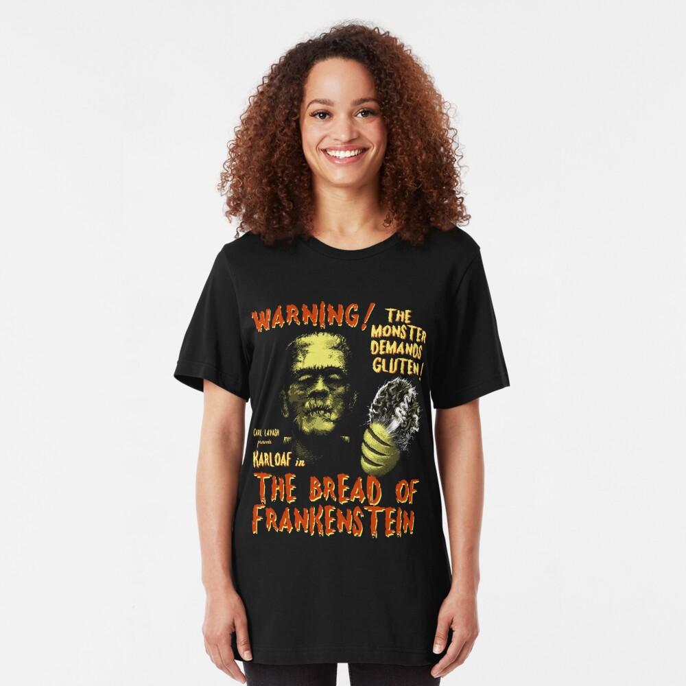 The Bread of Frankenstein Slim Fit T-Shirt