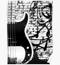 Precision Bass Guitar - Dee Dee Ramone Poster