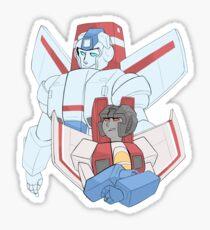 Transformers G1 - Starscream + Skyfire Sticker
