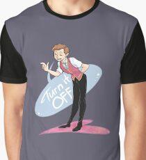 Buch Mormon - Wie ein Lichtschalter Grafik T-Shirt