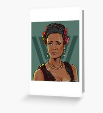 Westworld Fan Art - Maeve Greeting Card