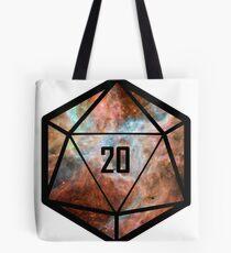 Natural 20 Tote Bag