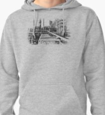 Old Refinery Industry Vintage Style T-Shirt Pullover Hoodie