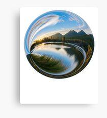 Natural Globe Canvas Print