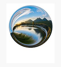 Natural Globe Photographic Print