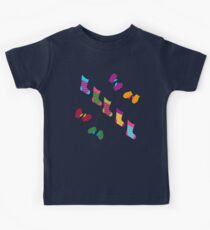Stockings and Mittens Pattern Kids Tee