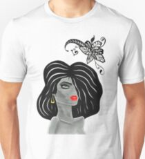 Lady  ''Grey'' Unisex T-Shirt