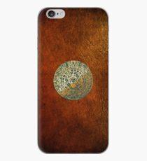 Ancient Mayan (Aztec) Calendar (Jade & Gold)  iPhone Case
