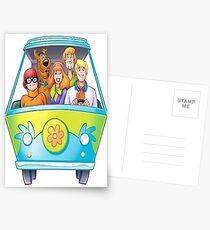 cartoon scooby doo japan naruto design art 8 Postcards