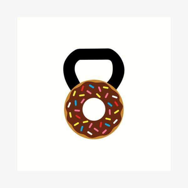 Kettlebell Donut Impression artistique