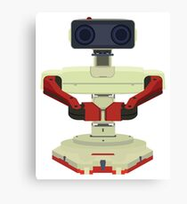 Robot R.O.B. Vector Canvas Print