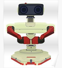 Robot R.O.B. Vector Poster