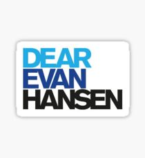 Dear Evan Hansen Sticker