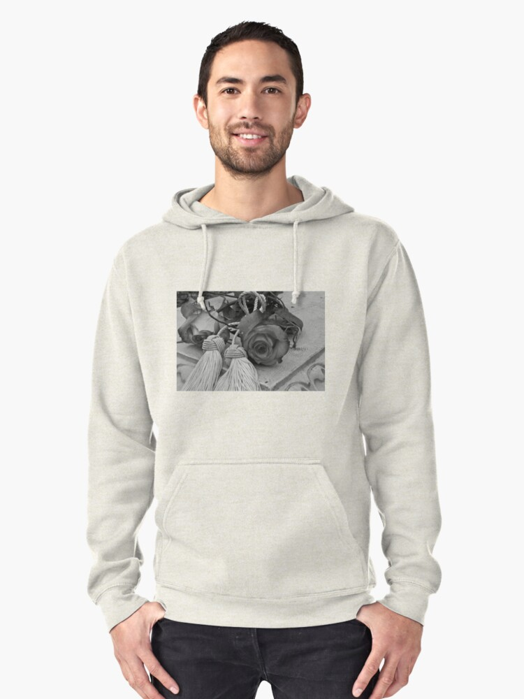 Beautiful Even If Devoid Of Color Pullover Hoodie Front