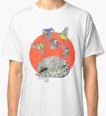 Pangolin and Birds Classic T-Shirt