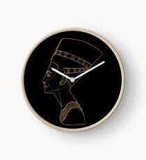 Egyptian Queen Nefertiti Clock