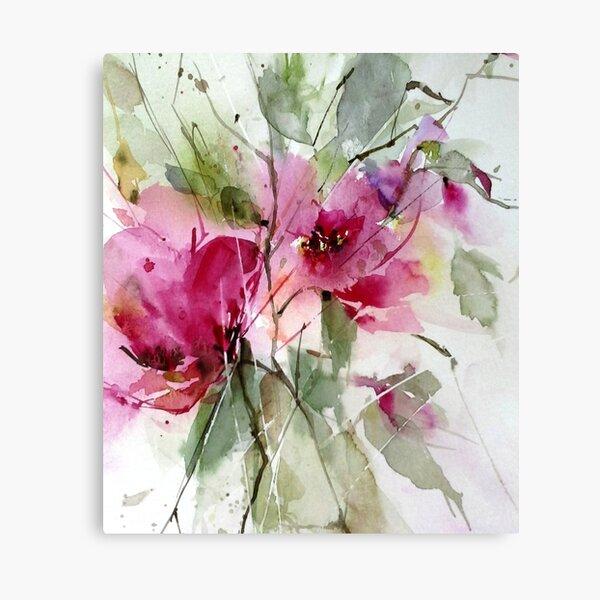 Roses impression Canvas Print