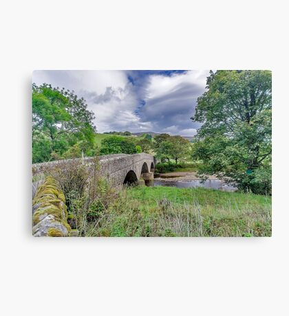 Swaledale Packhorse Bridge Canvas Print