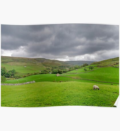 Yorkshire Dales View Poster
