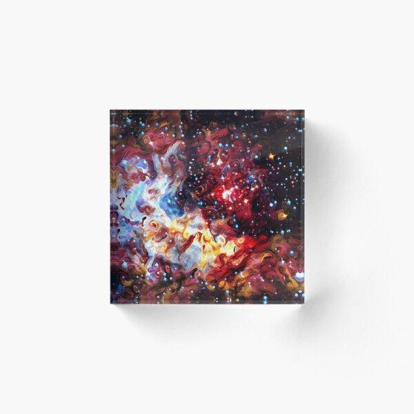 ALTERED Large Magellanic Cloud Acrylic Block