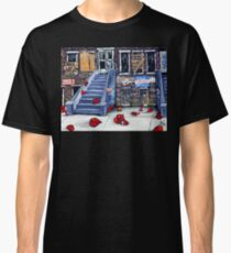 Broken Hearts Blvd. Homeless Family Vets Elderly Housing Veterans Social Issues Help Ill City Classic T-Shirt